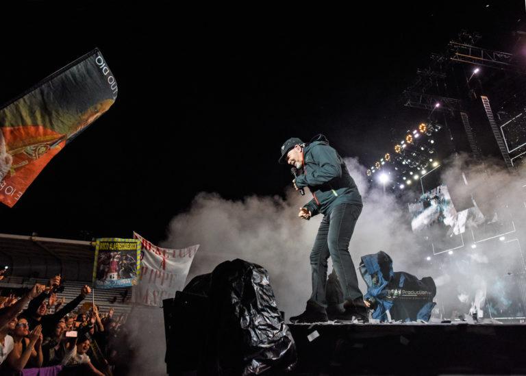 Soundcheck fanclub e concerto a Lignano